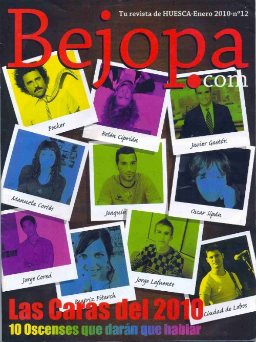 En la portada de la revista Bejopa