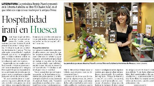 Hospitalidad iraní en Huesca