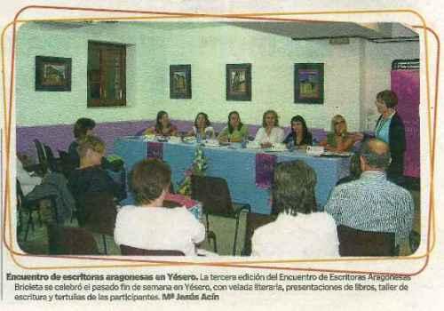 Brioleta en Heraldo de Huesca