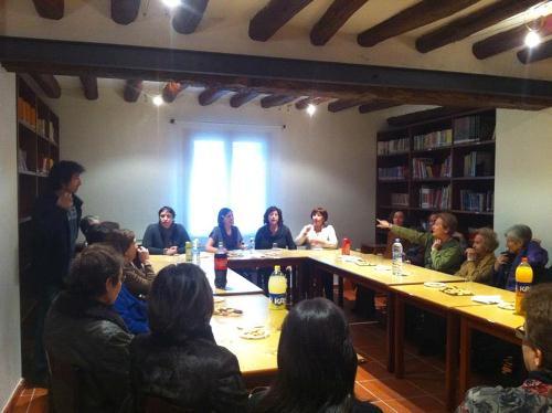Club de lectura en Bujaraloz